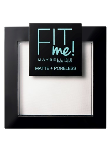 Maybelline Fit Me Matte+Poreless Pudra - 90 Translucent (Transparan) Ten